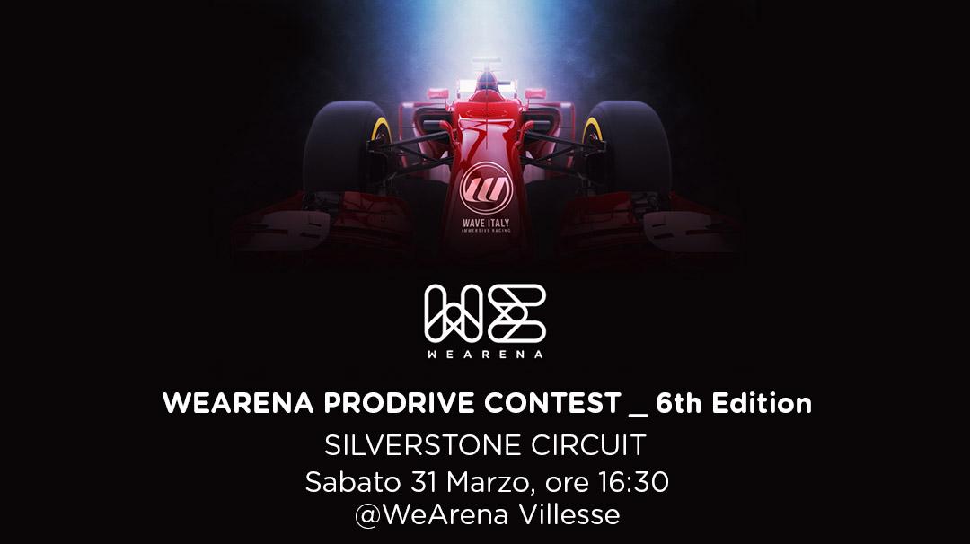 WeArena ProDrive Contest_Silverstone Circuit