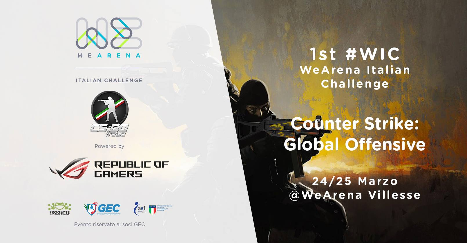 WeArena Italian Challenge _ CS:GO Edition