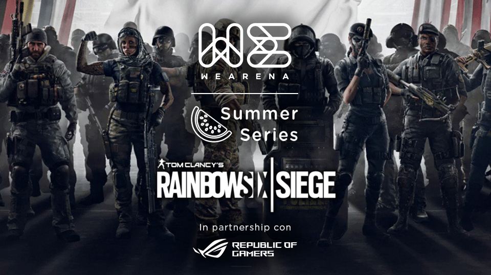 WeArena Summer Series Rainbow Six Siege