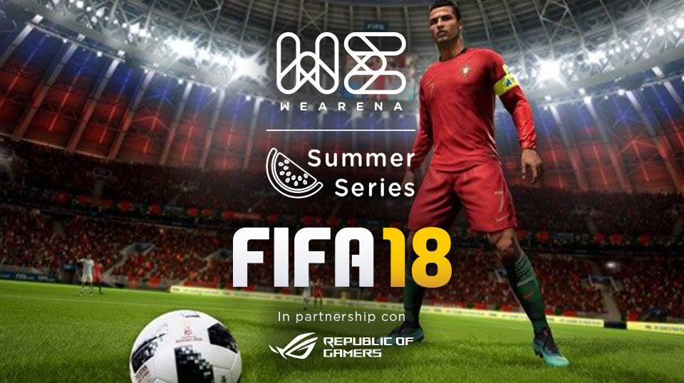 WeArena Summer Series FIFA18 _ La Finale