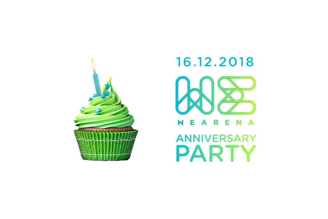 WeArena Anniversary Party!