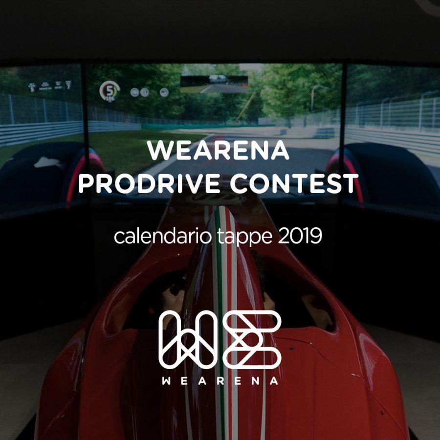 ProDrive Contest: il calendario 2019!