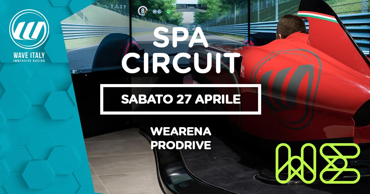 WeArena ProDrive – SPA Circuit